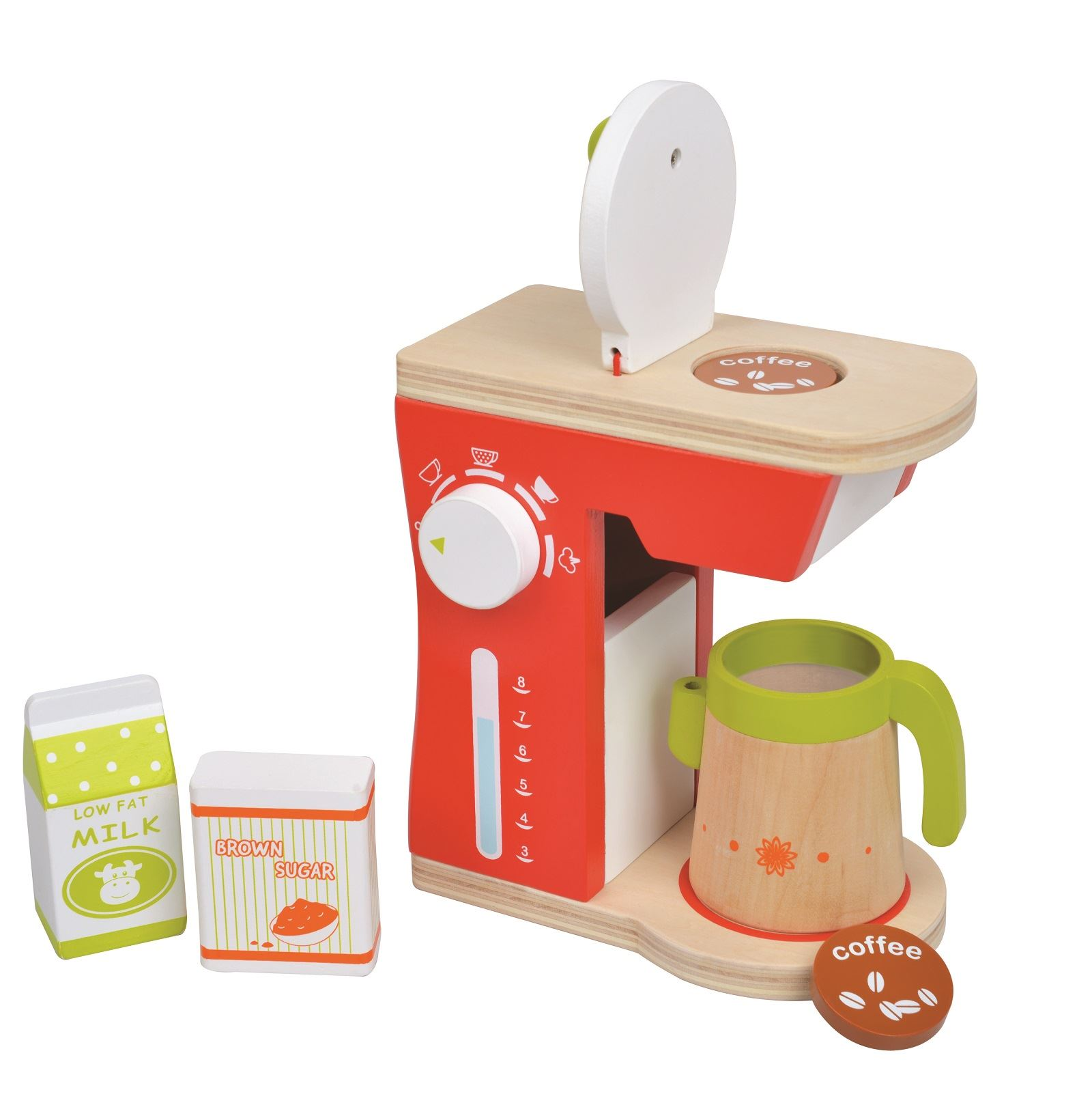 Lelin Wooden Drinks Coffee Tea Blender Mixer Making For