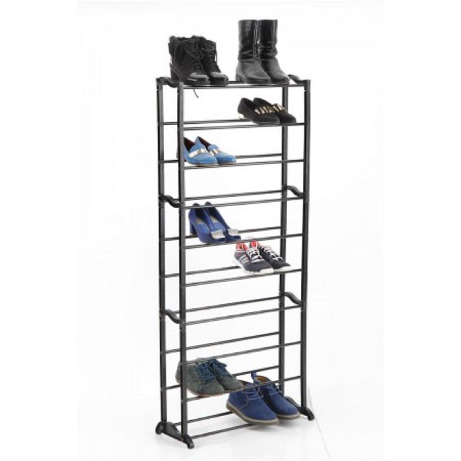 Vinsnai-10-Tier-Shoe-Heels-Trainers-Storage-Rack-Organiser-Shelve-Stand