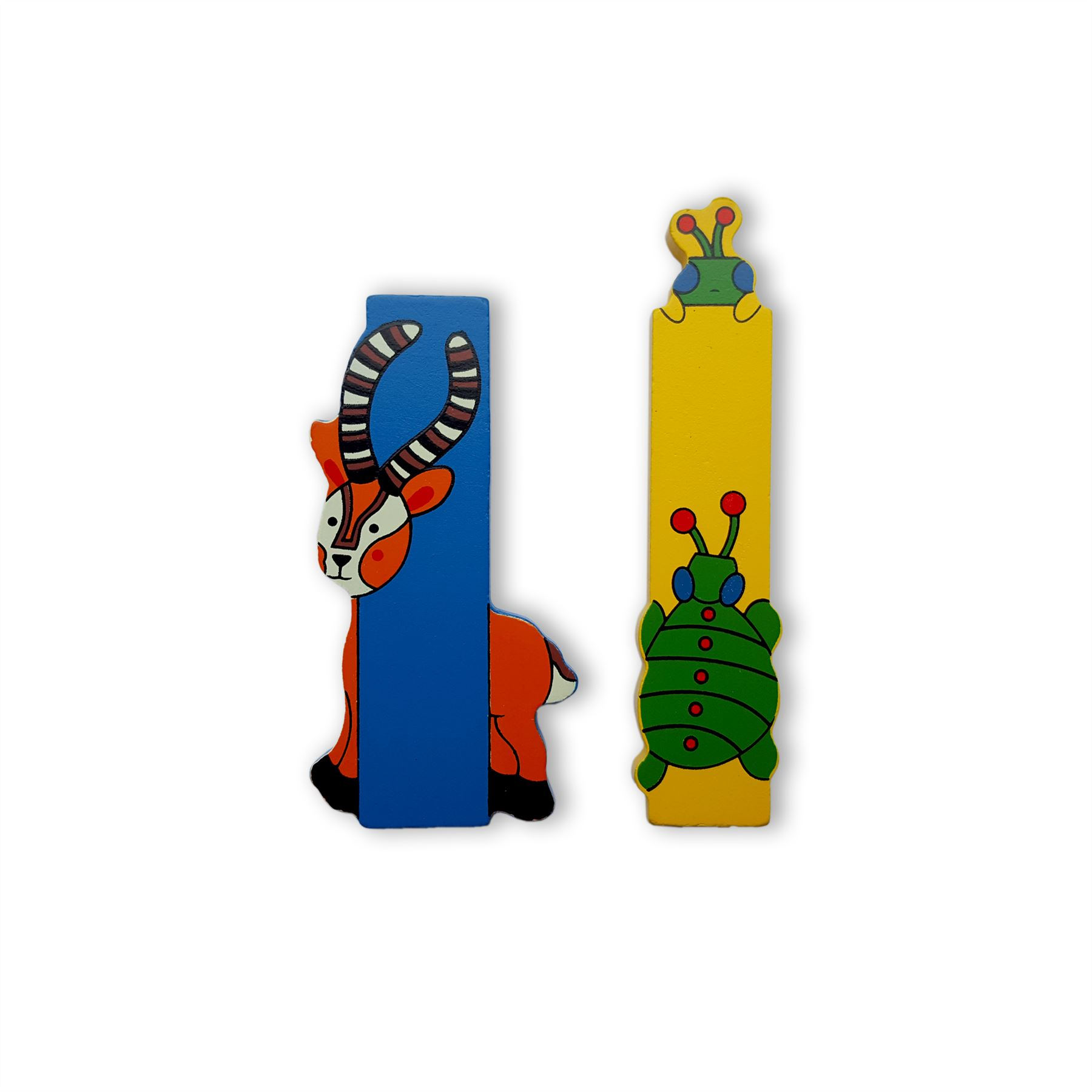 Wooden Jungle Animal Alphabet Letters Personalised Bedroom