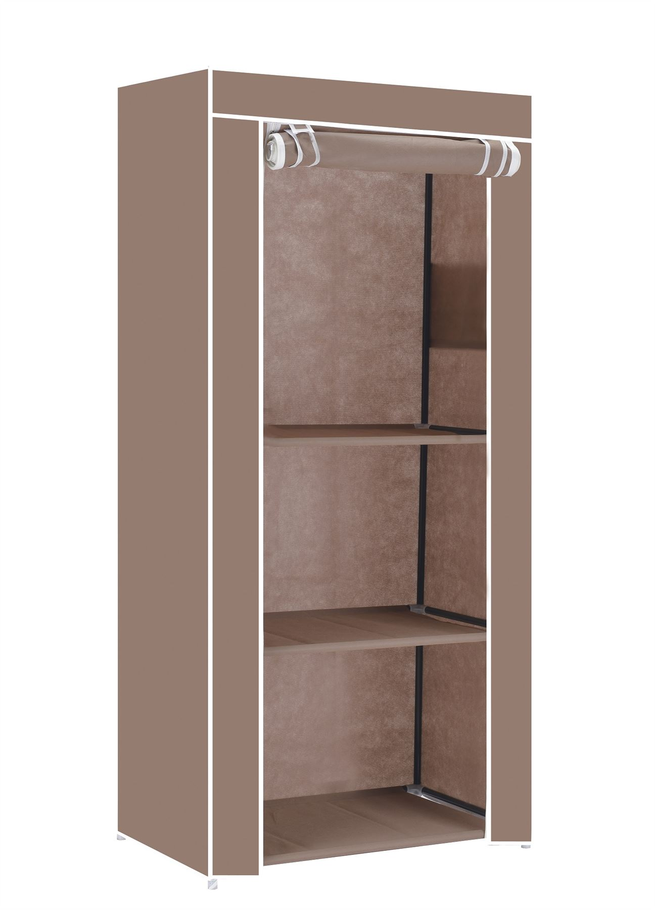 vinsani single wardrobes storage robust lightweight with. Black Bedroom Furniture Sets. Home Design Ideas