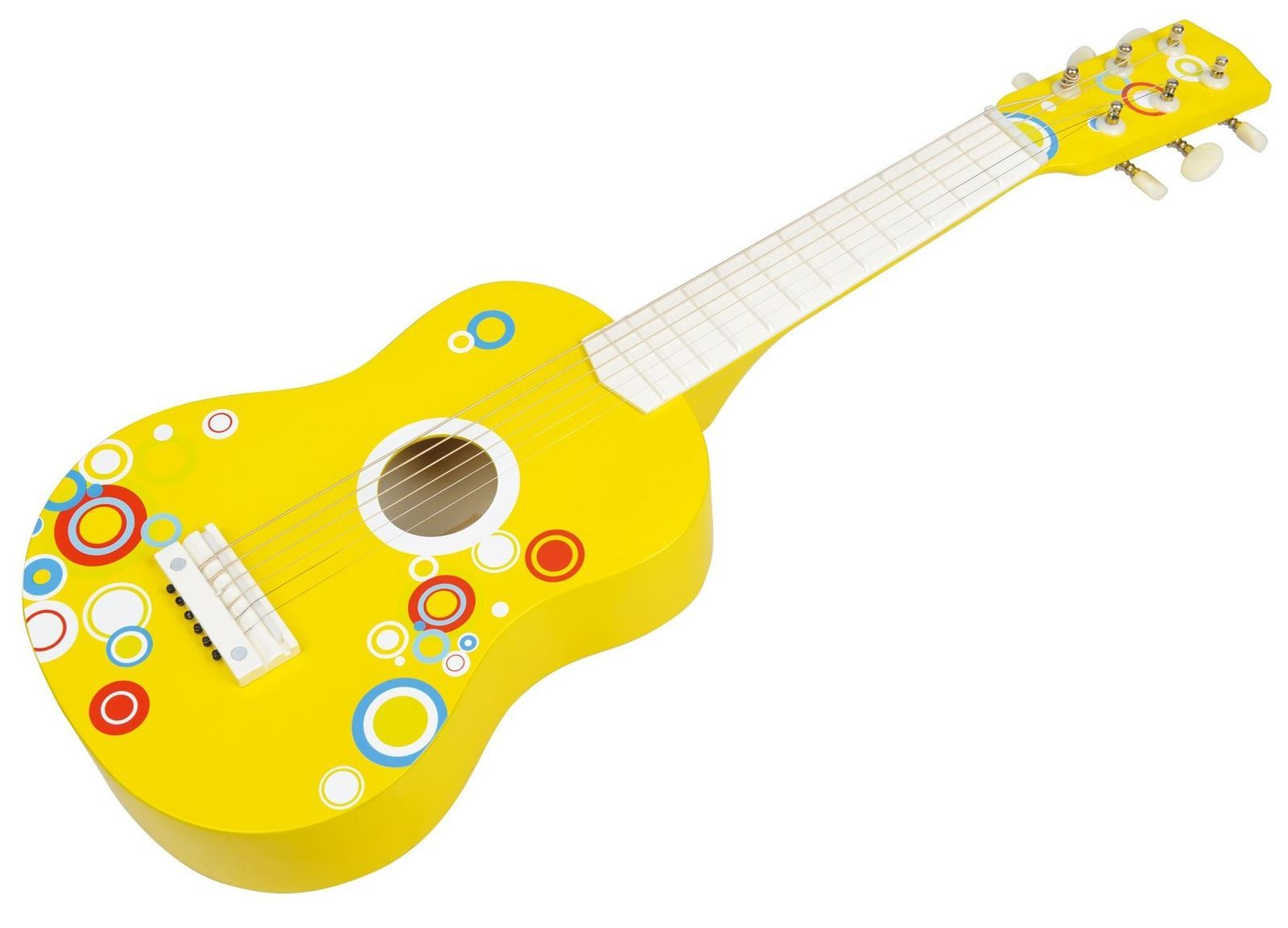 Lelin Wooden Childrens Kids Bubble Guitar Percussion