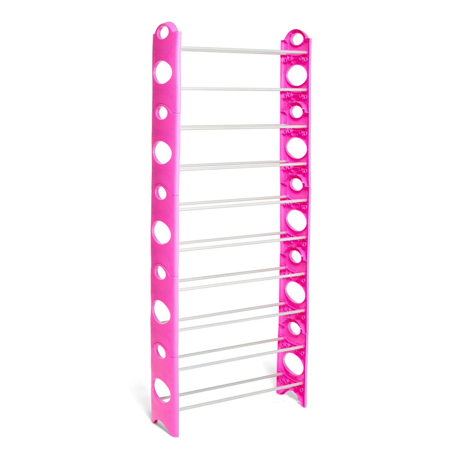 Vinsani-10-Tier-Shoes-Storage-Organiser-Stand-Shelf-Rack-Holds-30-Pairs-Shoes