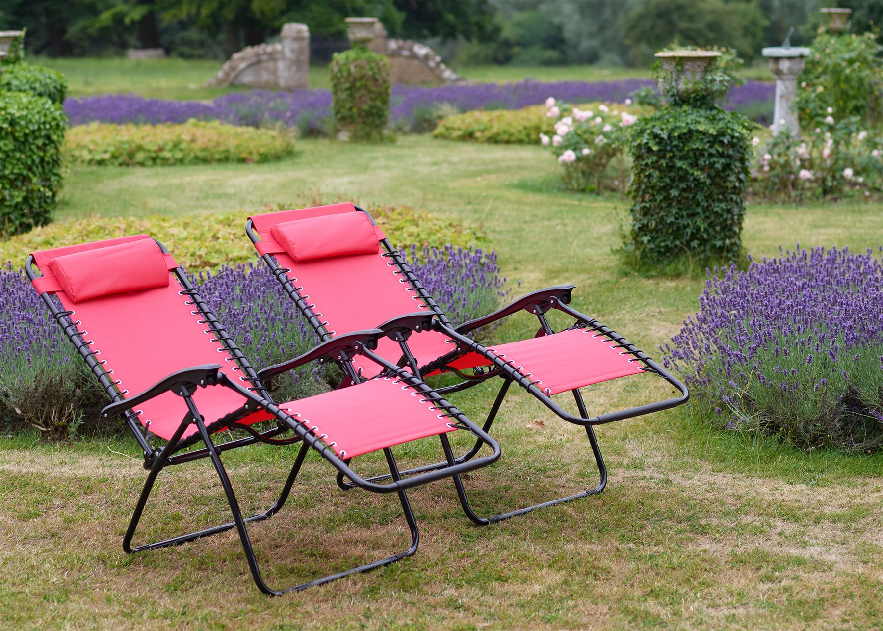 Set-of-2-Vinsani-Textoline-Gravity-Reclining-Garden- & Set of 2 - Vinsani Textoline Gravity Reclining Garden Chairs In ... islam-shia.org