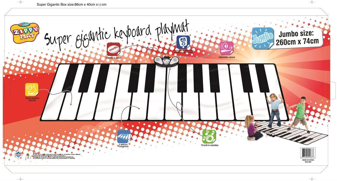 Vinsani/® Children Kids Musical Music Gigantic Indoor Outdoor Floor Keyboard Playmat