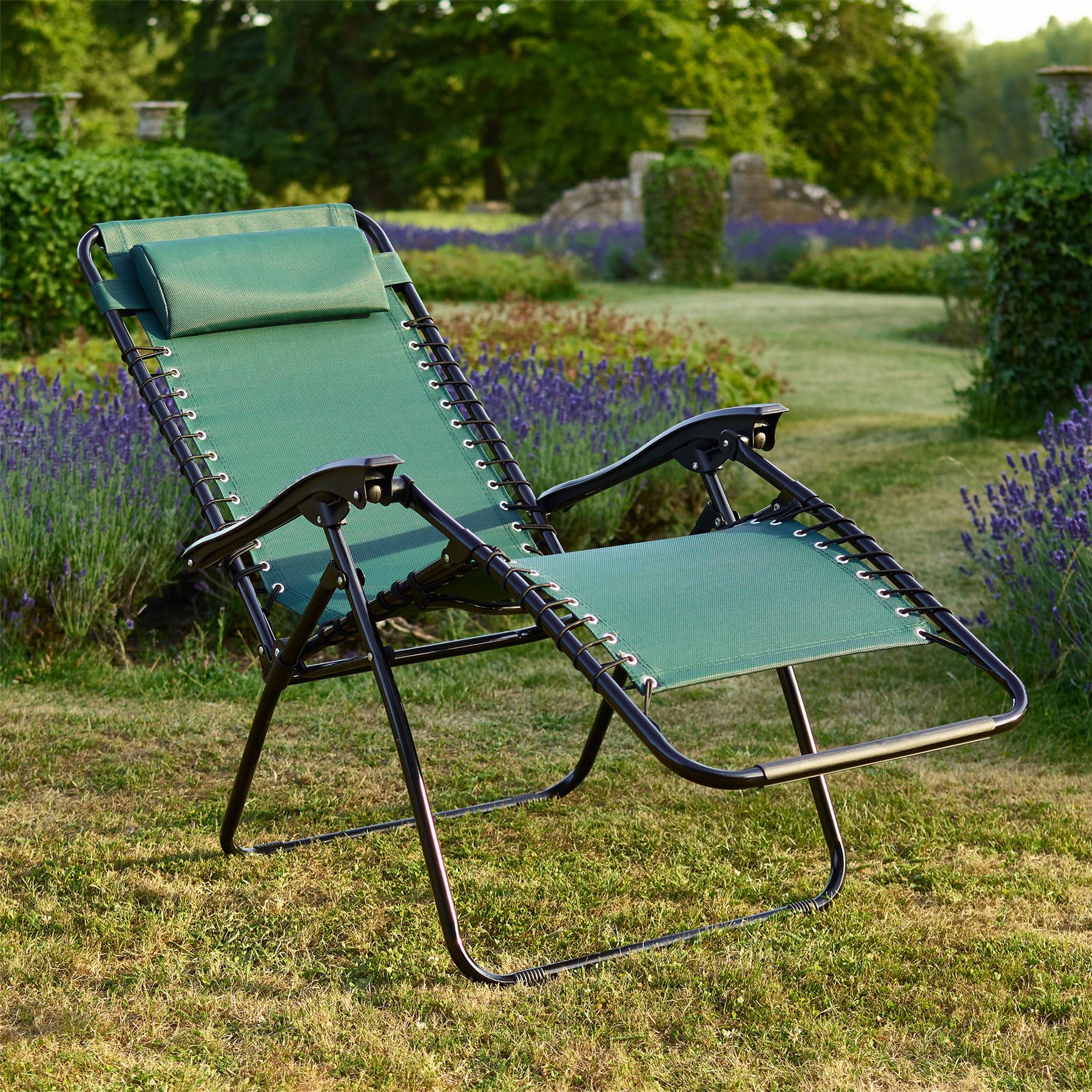 sentinel vinsani textoline gravity reclining garden chairs in various colours - Garden Furniture Colours