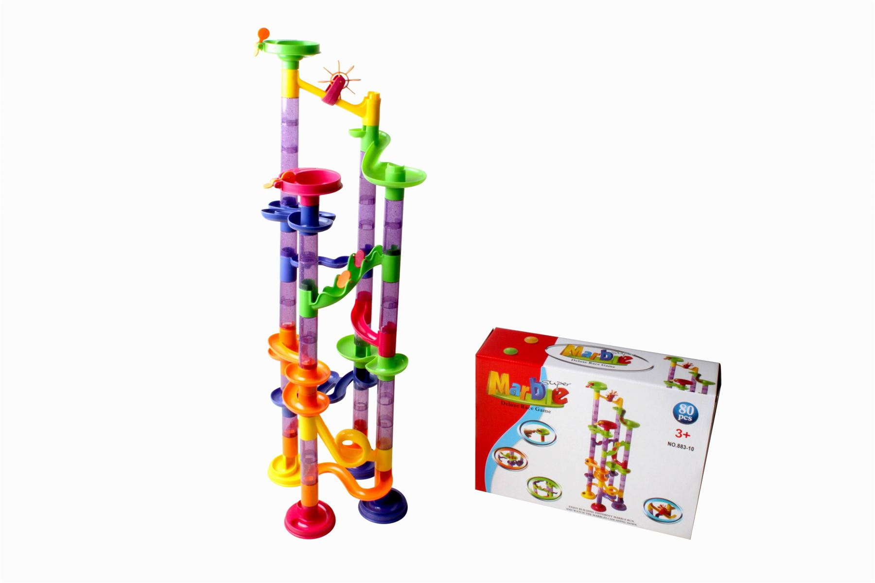 Marble Run Race Construction Childrens Kids Building Blocks