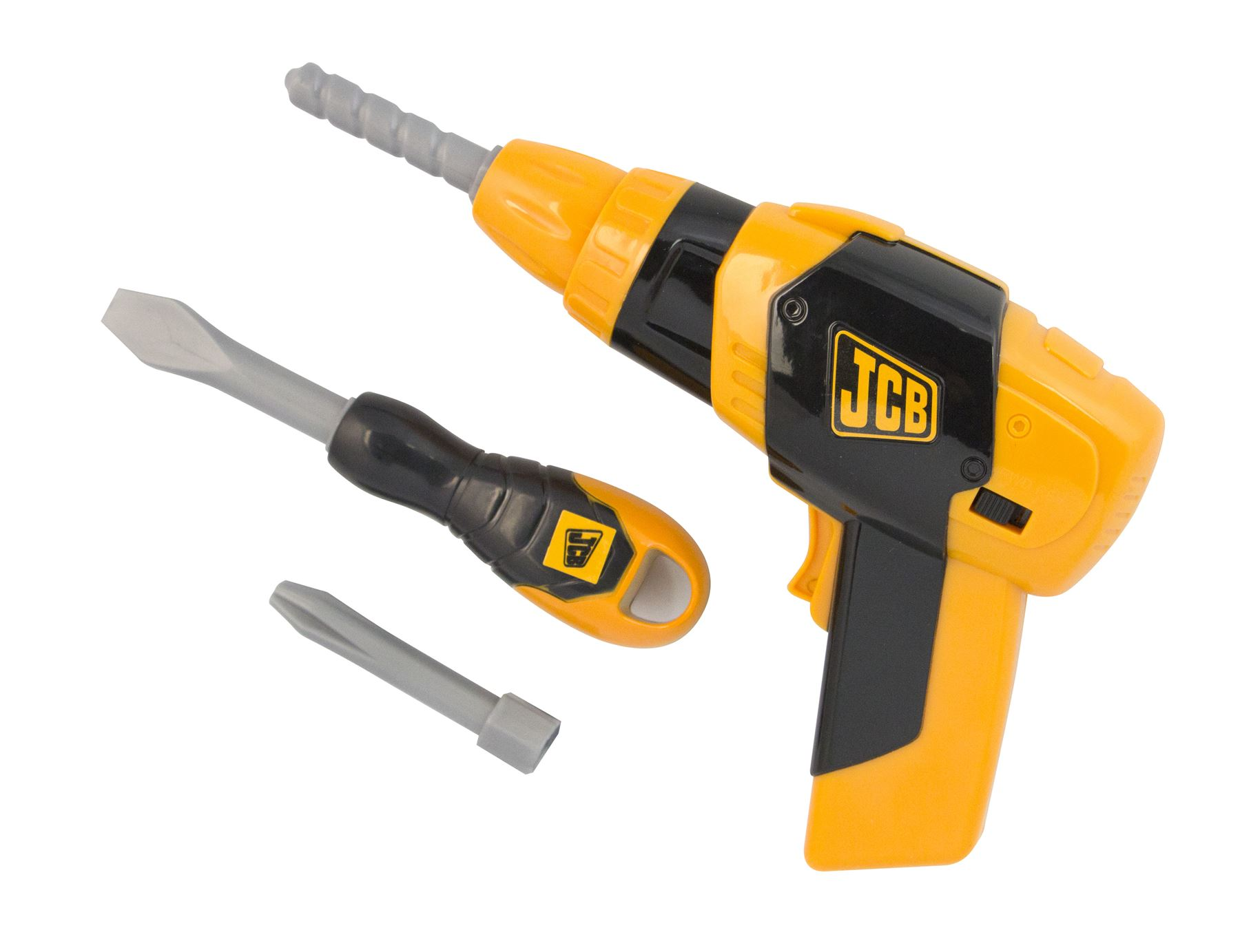 Jcb Toy Tool Case Amp Bo Drill Battery Operated With
