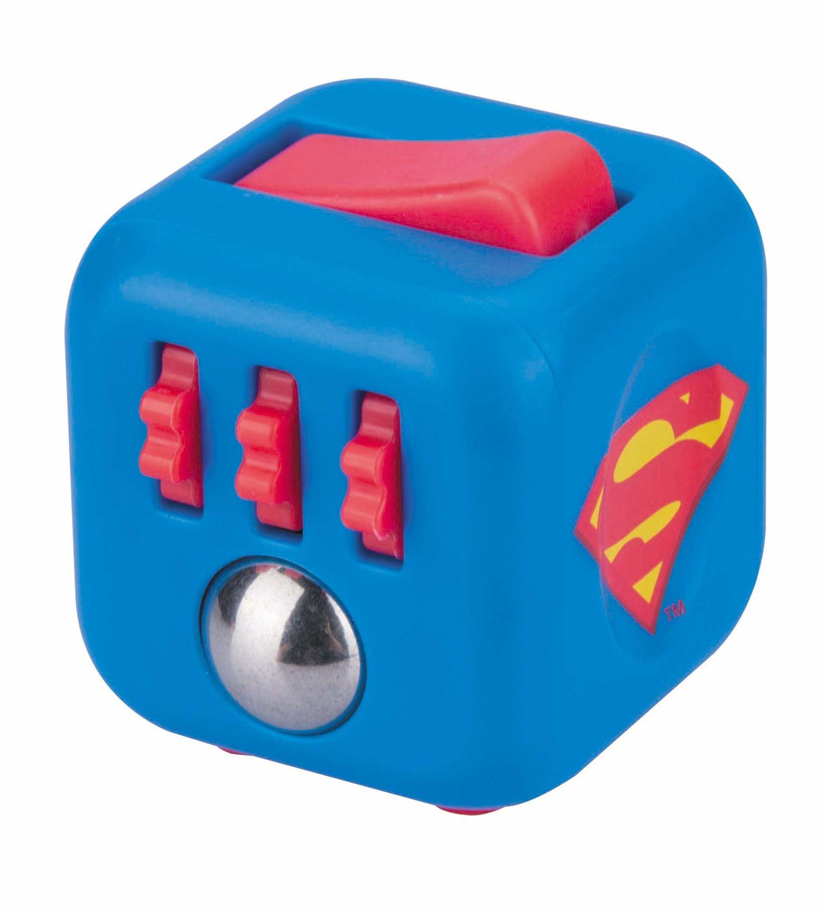 ficial DC ics Zuru Fid Cube Toy Kids Desk Adult Stress