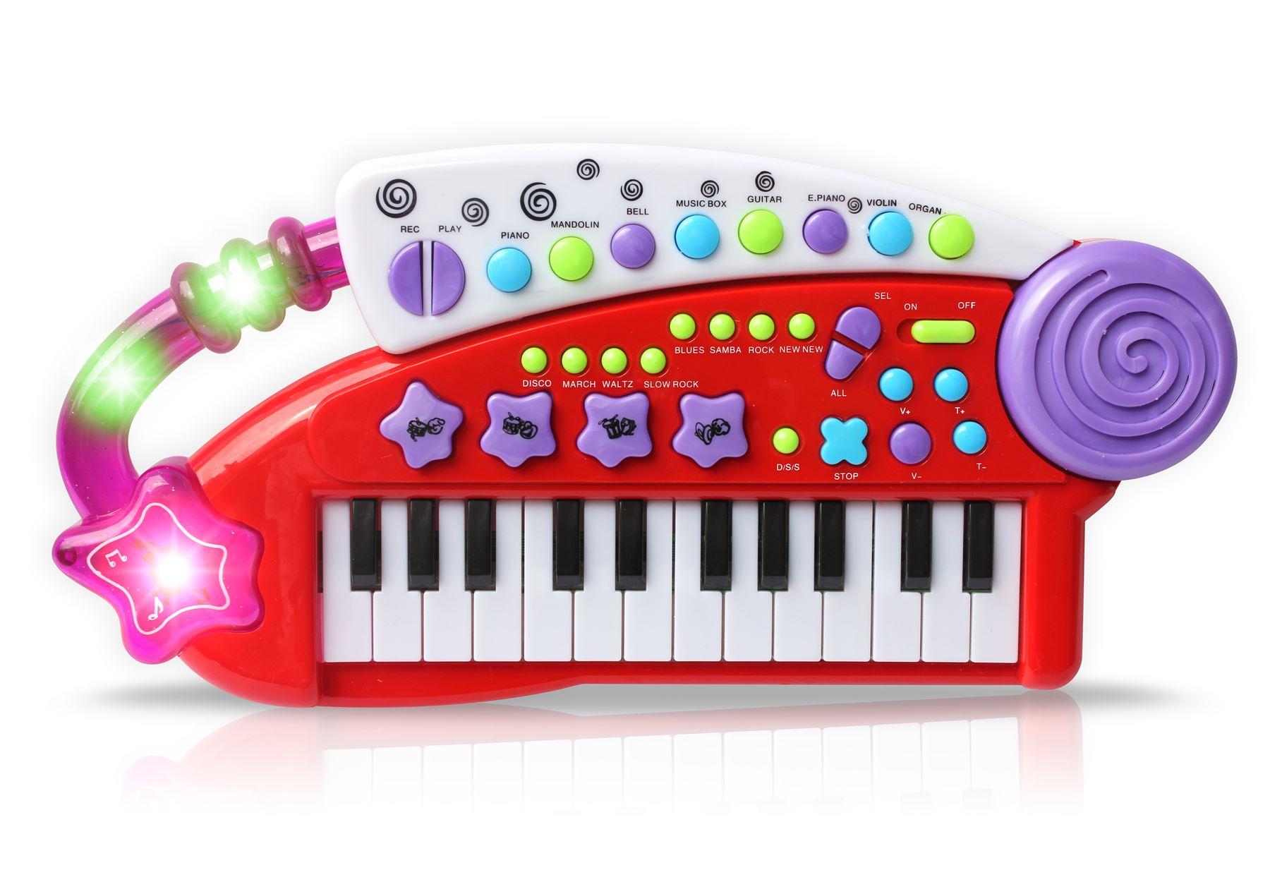 Vinsani Piano Carry Along Keyboard Children Kids Musical