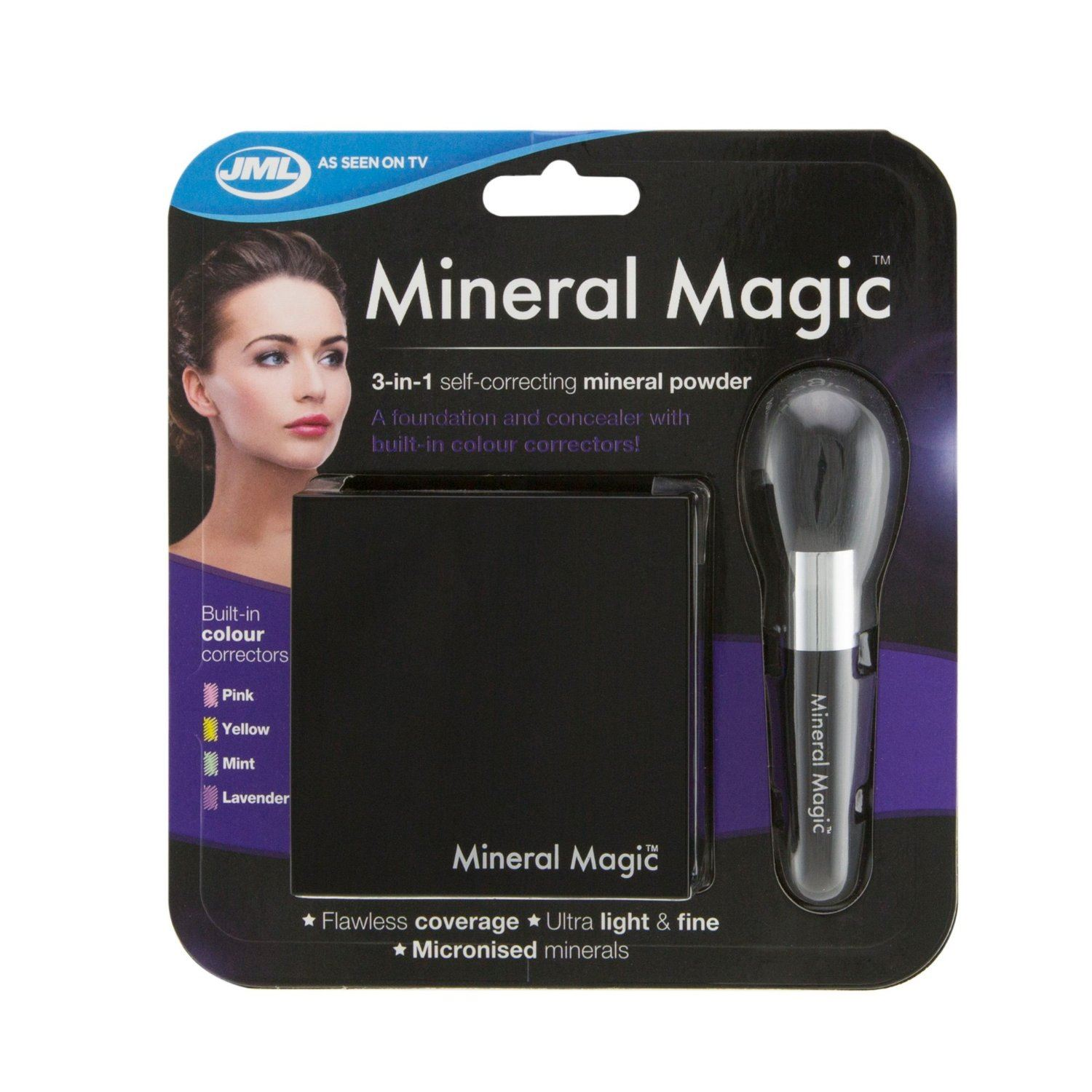 Jml Mineral Magic Make Up 3 In 1 Self Correcting Powder Ebay