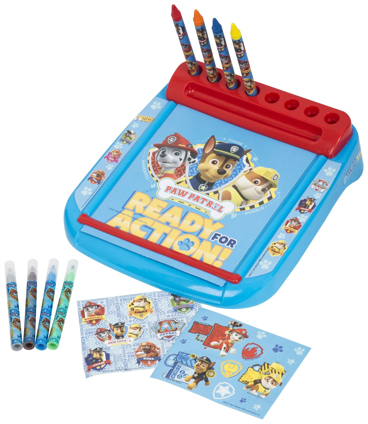 Paw Patrol Roll Amp Go Drawing Marshall Rubble Chase