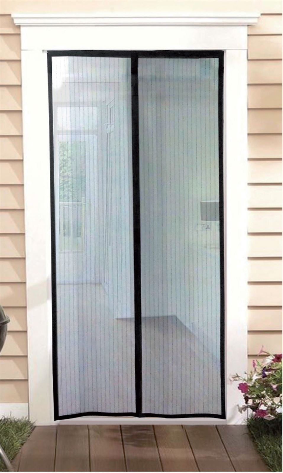 Vinsani Magnetic Flying Insect Door Window Curtain Magic