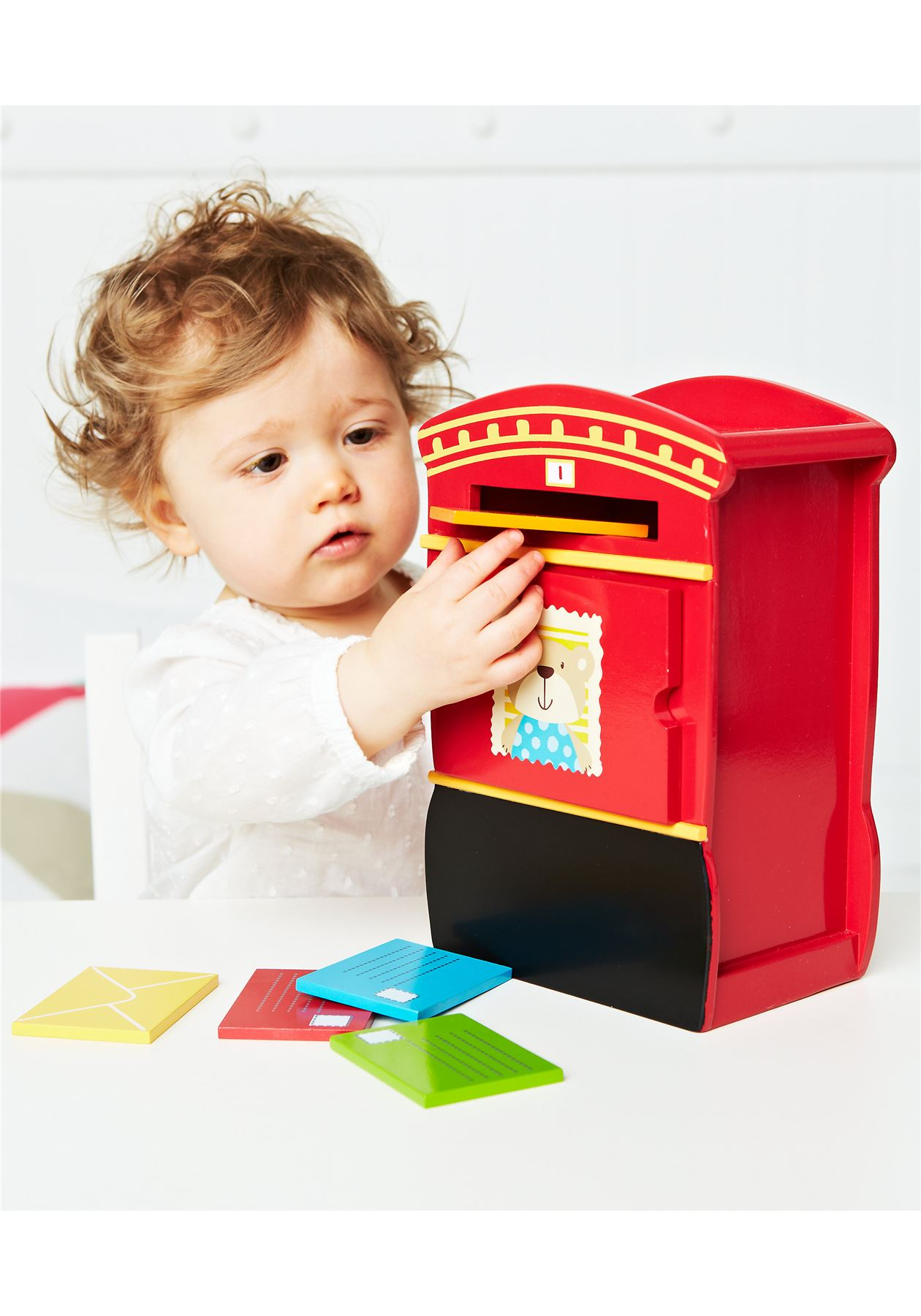 ELC Children Kids Creative Education Learning Wood Wooden Post Box