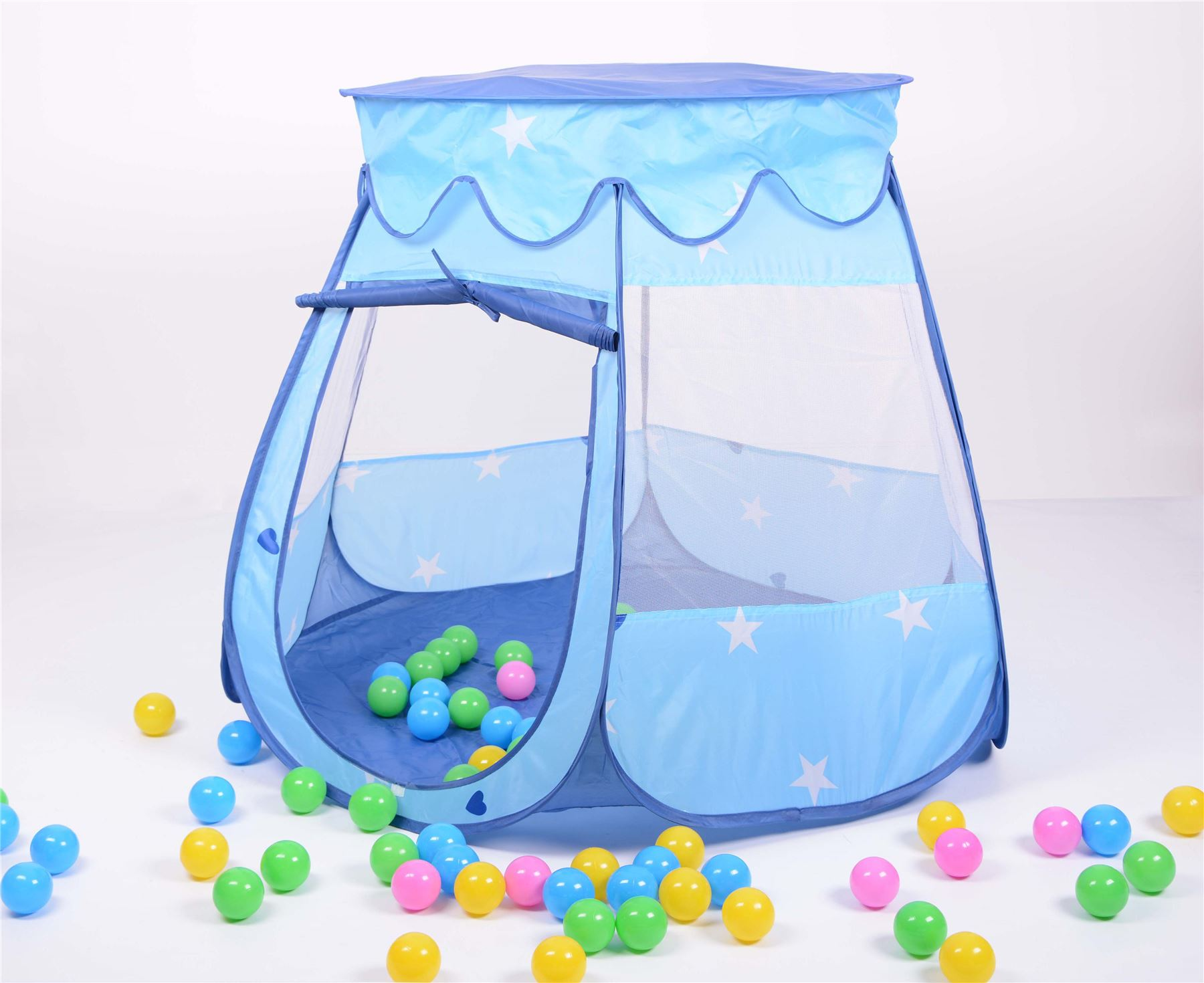 Sentinel Childrens Playhouse Kids Baby Tent Ball Pit Pop Up + 100 Balls + Bag - Blue  sc 1 st  eBay & Childrens Playhouse Kids Baby Tent Ball Pit Pop Up + 100 Balls + Bag ...