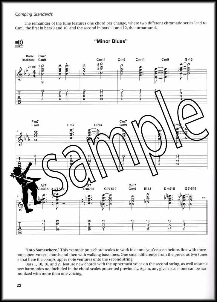 Details about Comping Standards for Jazz Guitar TAB Music Book/CD by Jim  Ferguson