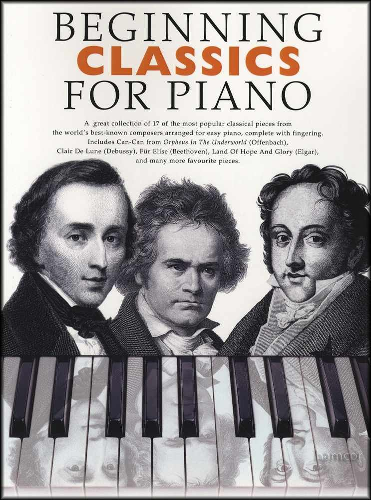 Details about Beginning Classics for Piano Easy Sheet Music Book