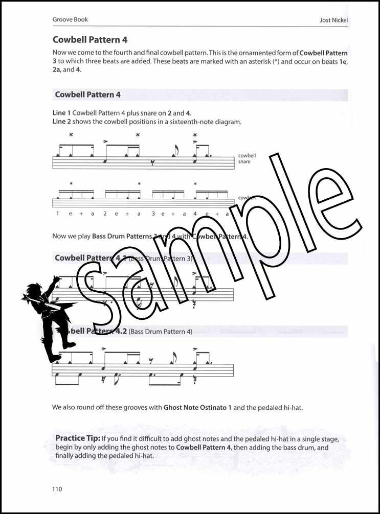Details about Jost Nickel's Groove Book Drum Music Book/MP3 CD