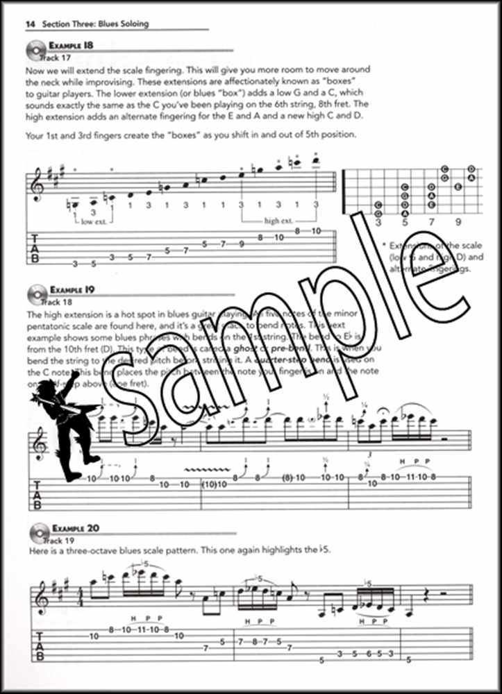 Details about Blues Guitar Basics Revised Edition TAB Book/DVD/CD Ultimate  Beginner Series