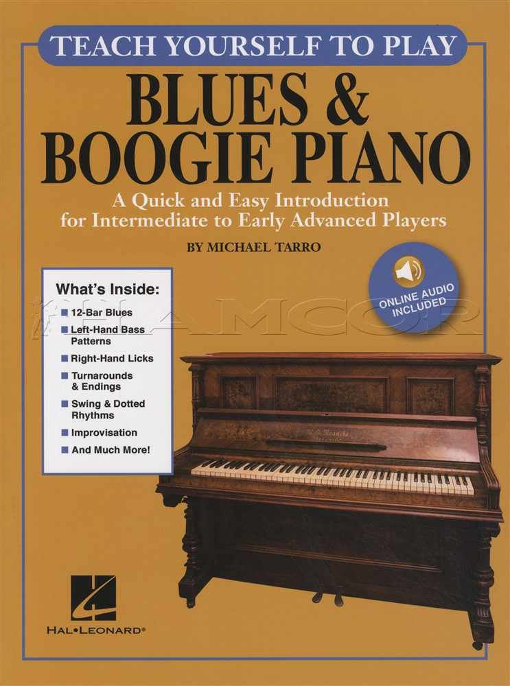 Details about Teach Yourself To Play Blues & Boogie Piano Sheet Music Book  with Audio