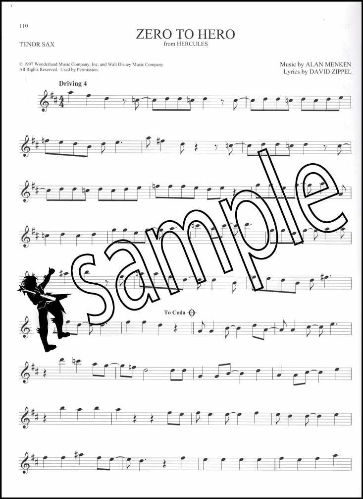Details about 101 Disney Songs for Tenor Sax Saxophone Sheet Music Book  Frozen Lion King Moana