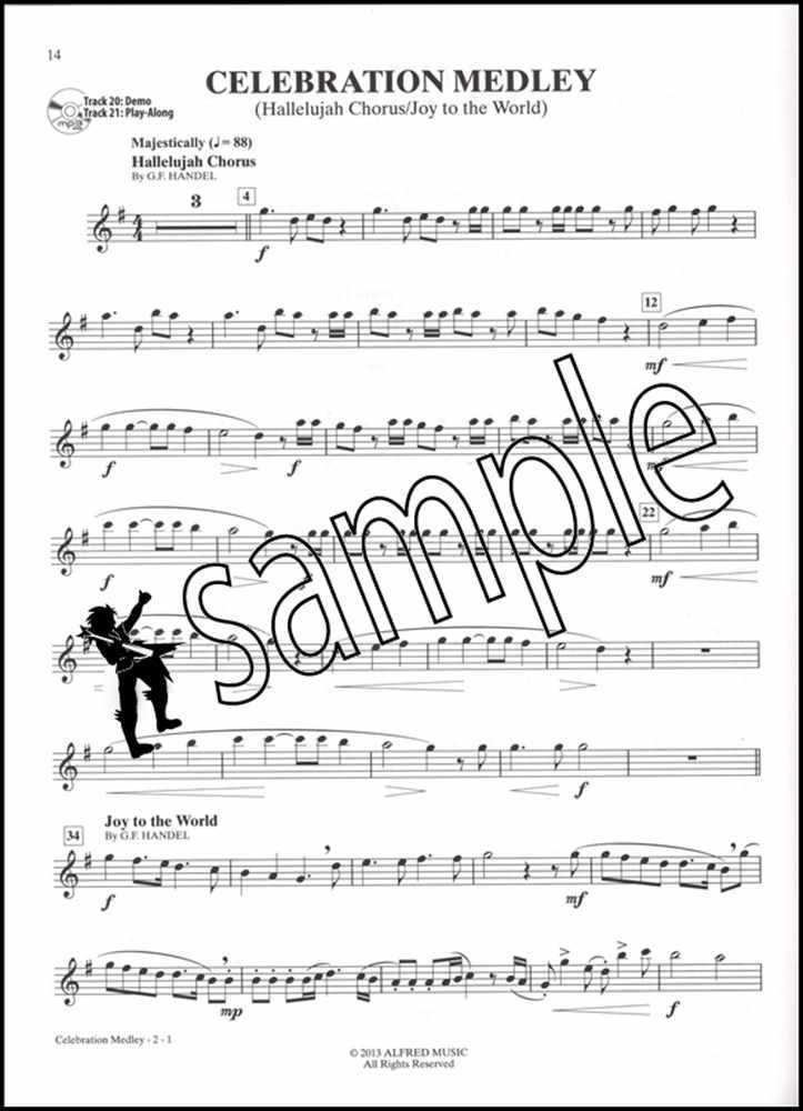 Christmas Hallelujah Sheet Music.Get E Book Celebration Medley Hallelujah Chorus Joy To The