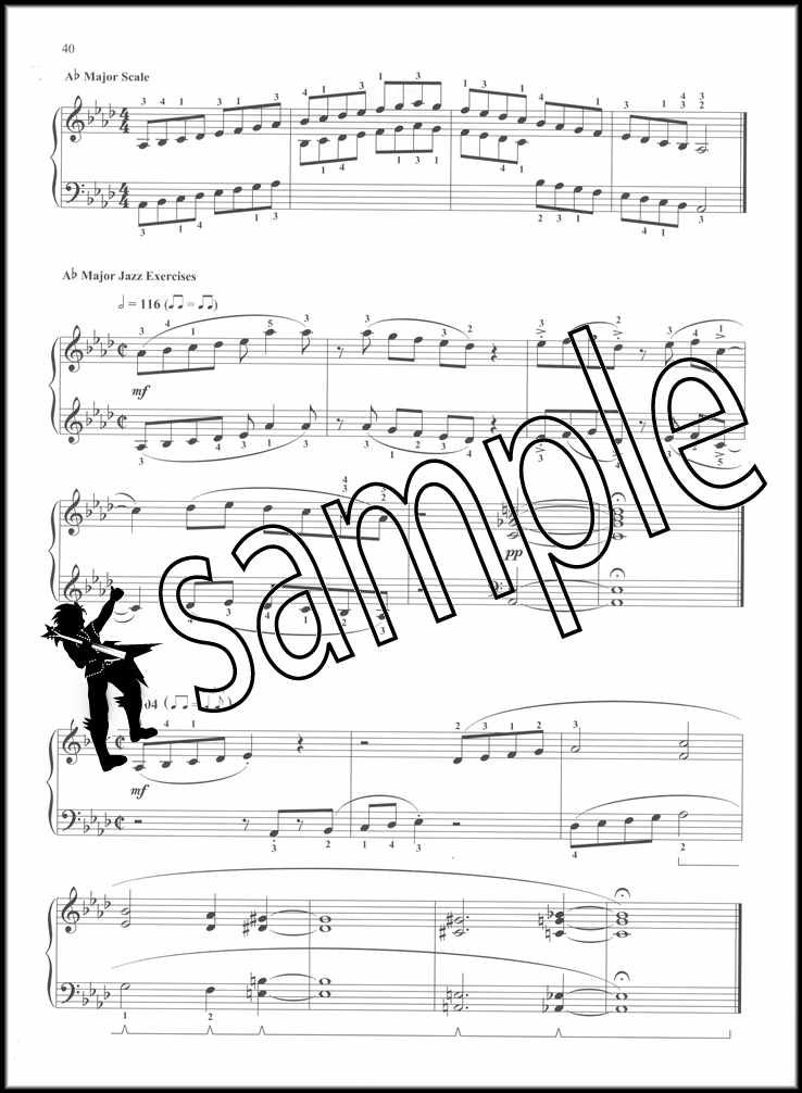 Details about Jazz Piano Scale And Exercises Sheet Music Book Scale  Patterns & Etudes