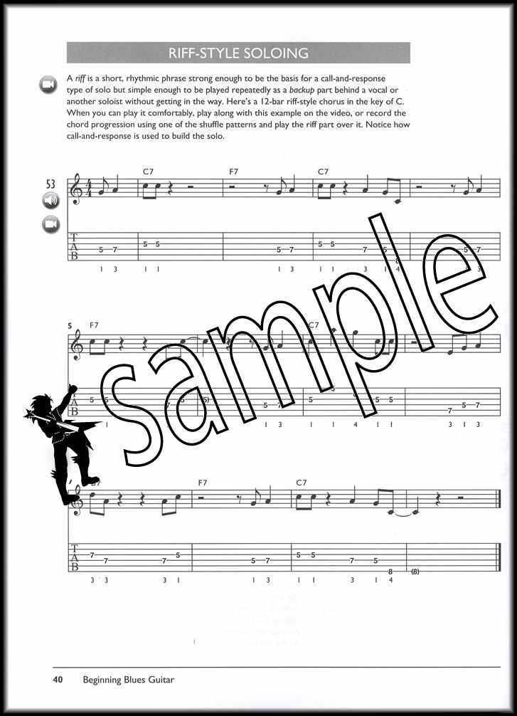 Details about Alfred's Complete Blues Guitar TAB Music Book with DVD and  Audio Access