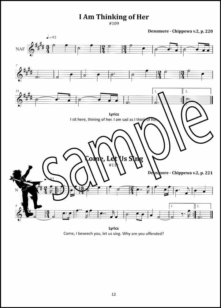 Details about Songs of the Nations for Native American Flute Sheet Music  Book with Audio