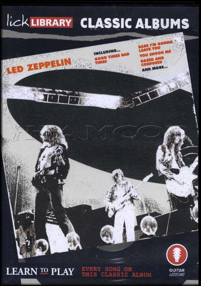 Details about Led Zeppelin 1 Lick Library Classic Albums Guitar Tuition DVD  Learn How To Play