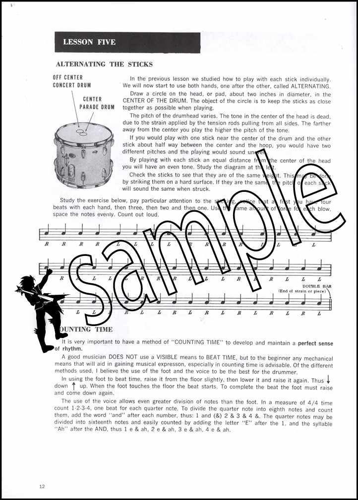 Details about Drum Method For Band & Orchestra 1 Sheet Music Book/CD Snare  Drum Learn To Play