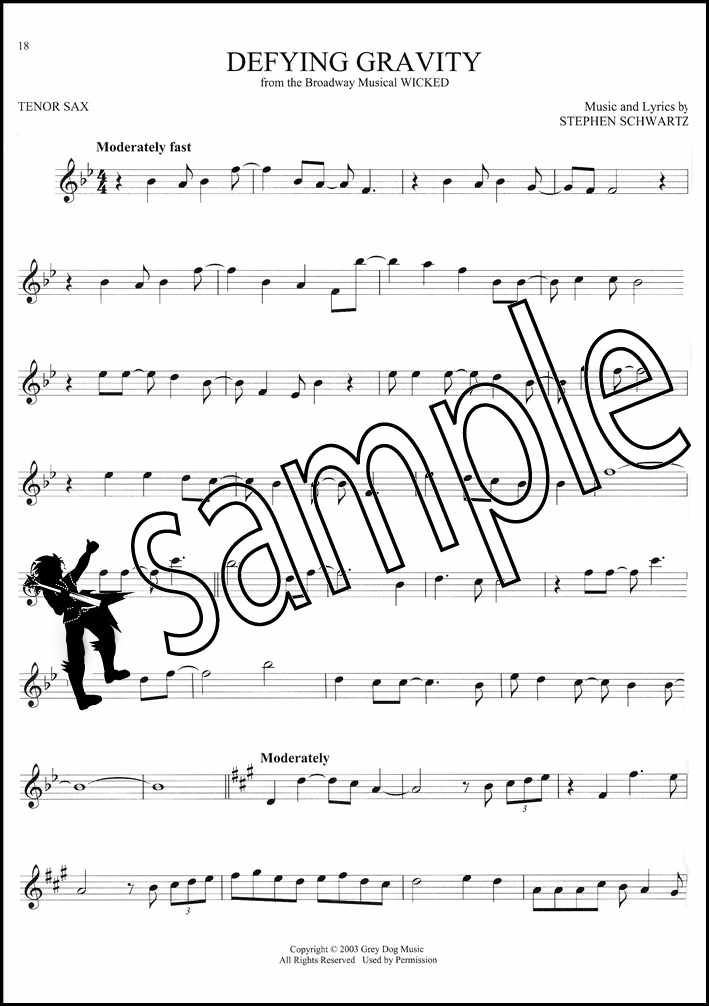 Details about 101 Broadway Songs for Tenor Sax Saxophone Sheet Music Book  Les Miserables