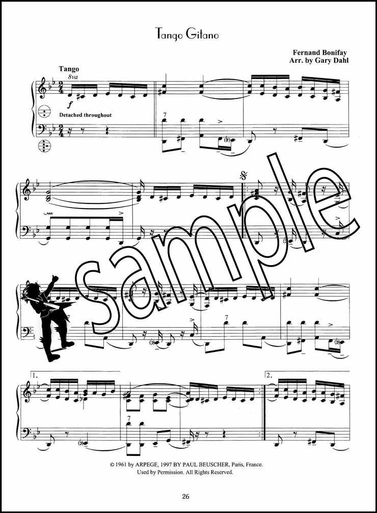 Details about French Tangos for Accordion Sheet Music Book with Audio