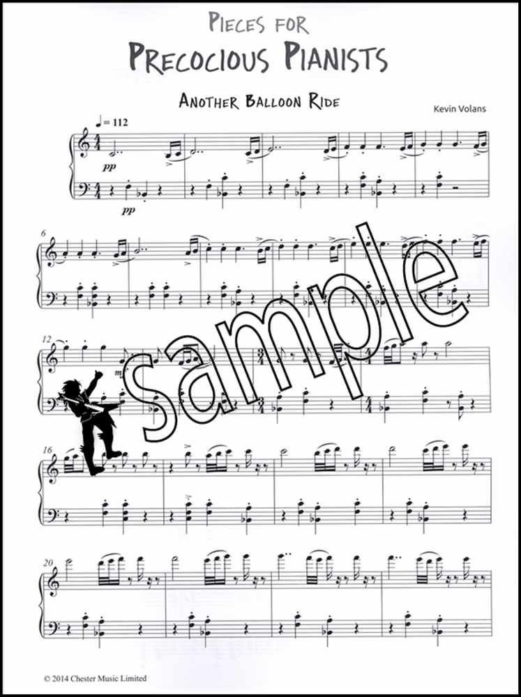Details about Pieces for Precocious Pianists Piano Sheet Music Book  Intermediate Kevin Volans