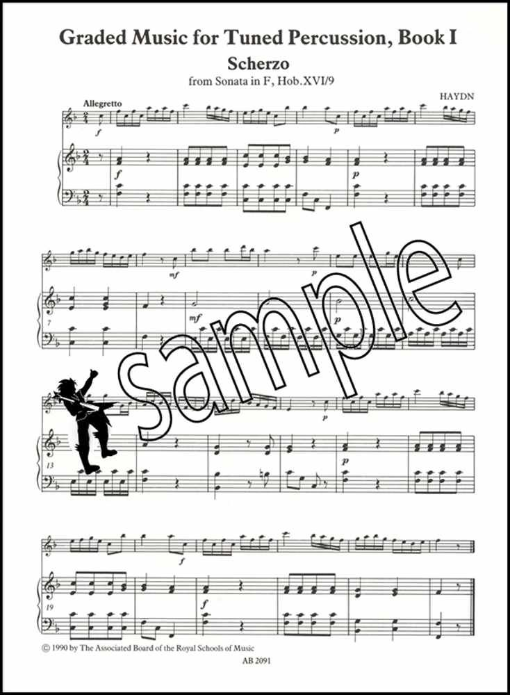 ABRSM Piano Sheet Music Instrumental Album Piano Mix Book 1 Grades 1-2