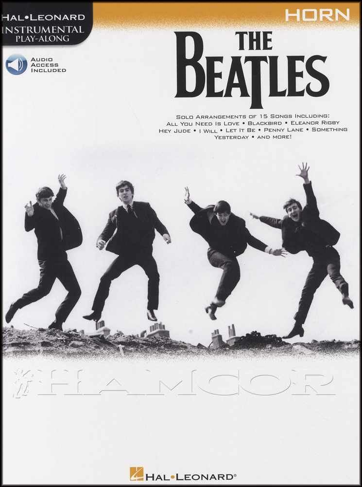 Details about The Beatles Instrumental Play-Along for French Horn Sheet  Music Book with Audio