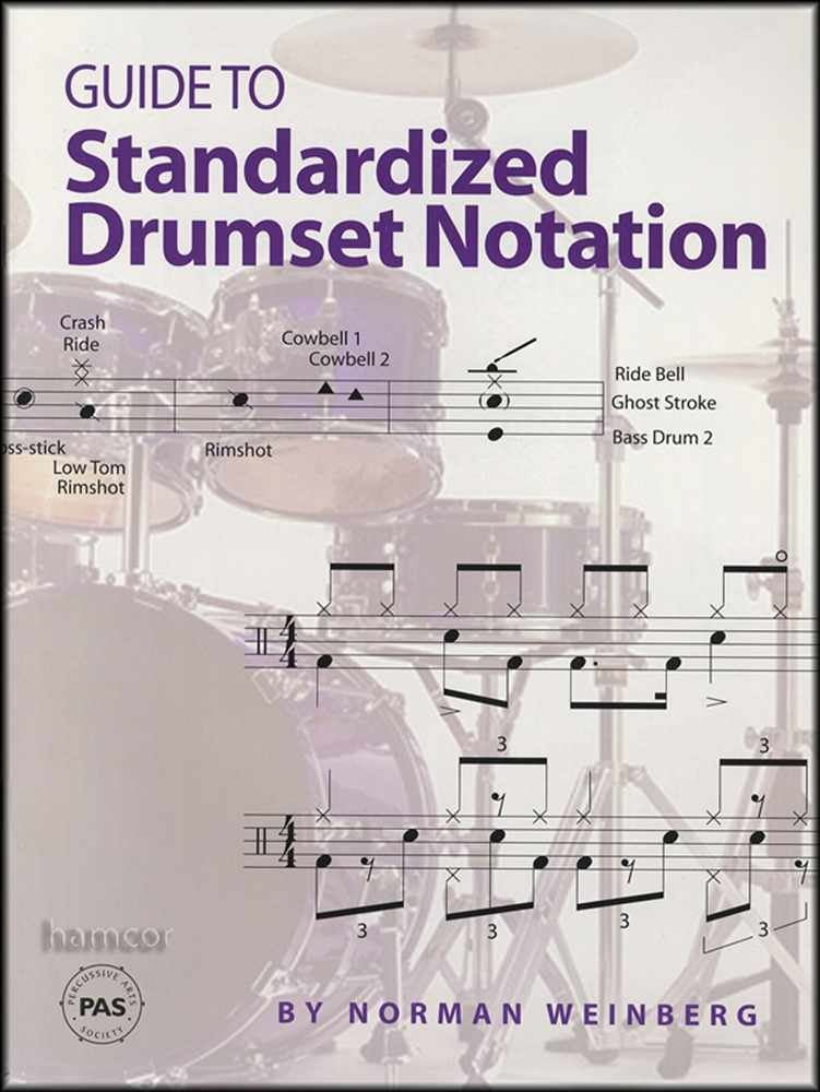 Details about Guide to Standardized Drumset Notation Drum Music Book by  Norman Weinberg