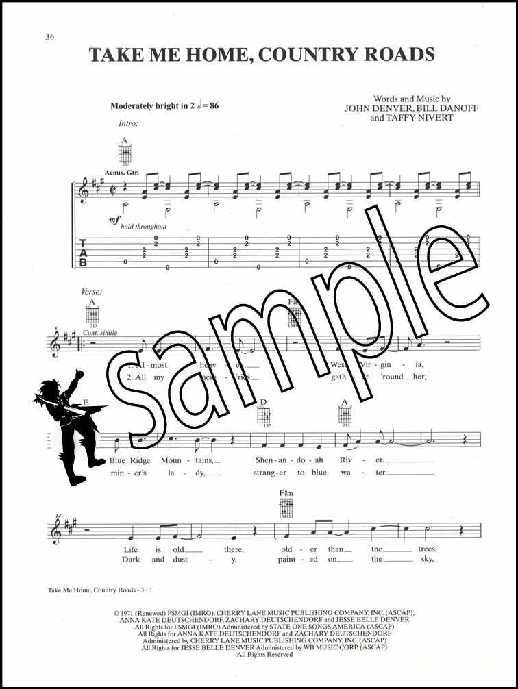Details about Just for Fun Easy Rock Guitar TAB Chords Songbook Book
