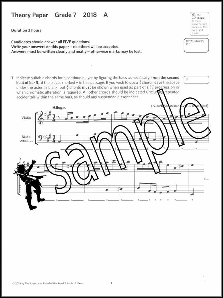 Details about Music Theory Practice Papers 2018 ABRSM Grade 7 Past Exams  SAME DAY DISPATCH