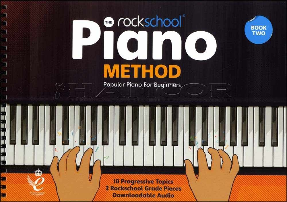 The Rockschool Piano Method 2 Sheet Music Tuition Book//Audio SAME DAY DISPATCH