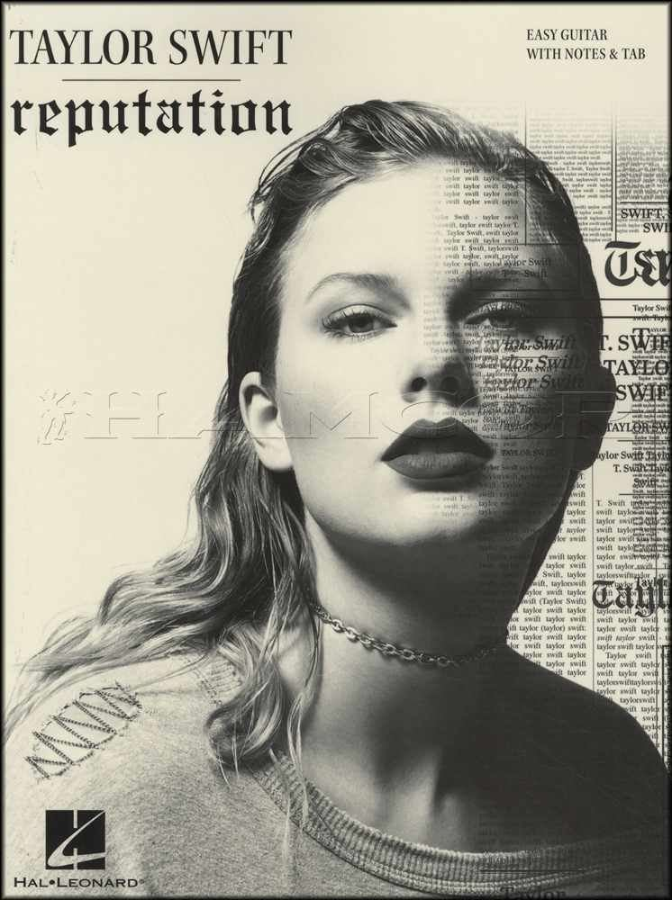 Guitar Taylor Swift Reputation Easy Guitar Tab Music Book End Game Delicate Dress Contemporary