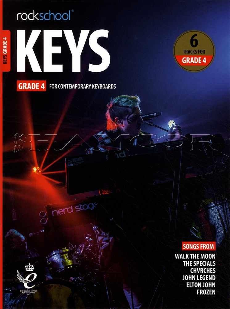 Rockschool Keys Grade 4 Keyboard from 2019 Book//Audio Exam SAME DAY DISPATCH