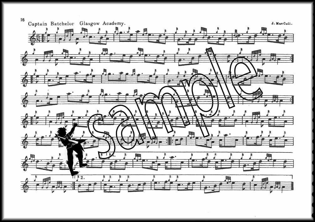 Details about Pipe-Major W Ross Collection of Highland Bagpipe Sheet Music  Book 2
