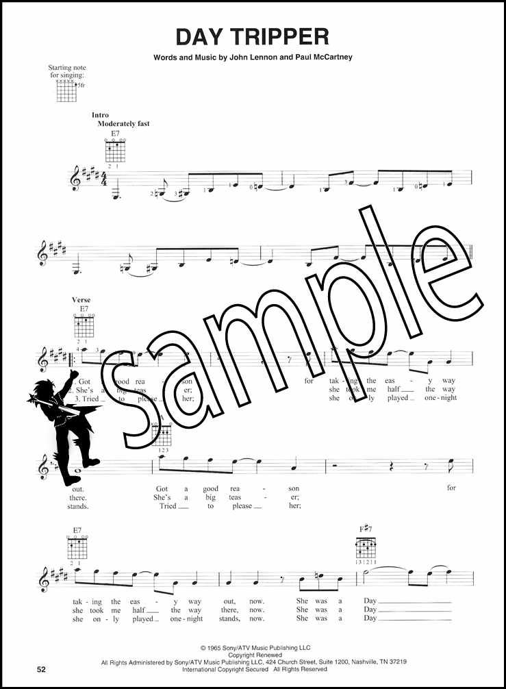 the beatles plete easy guitar chord melody songbook ticket to Guitar Chords for Beginners click on the image to enlarge zoom in