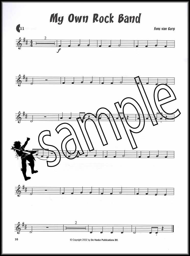 Kids Play Easy Solo Trumpet Sheet Music Book With Play Along Cd