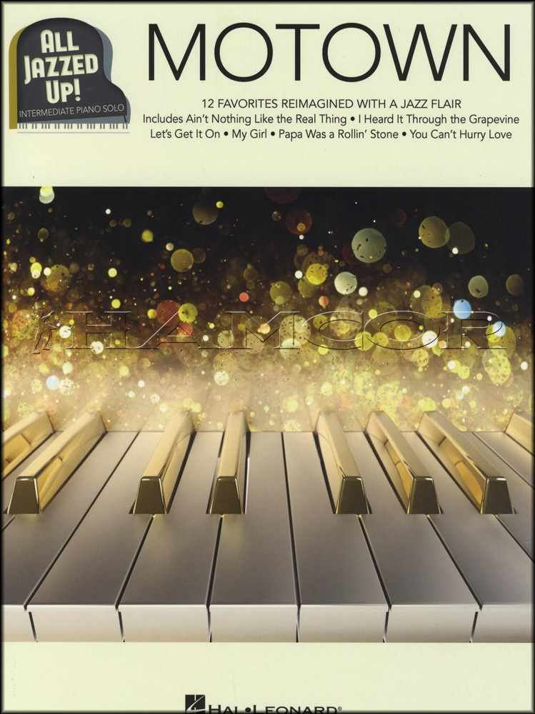Details about Motown All Jazzed Up Intermediate Piano Solo Sheet Music Book  12 Favorites