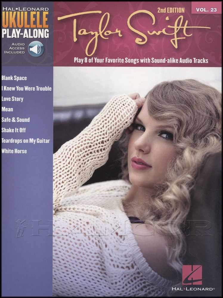 Details about Taylor Swift Ukulele Play-Along Chord & Melody Song Book with  Audio Black Space