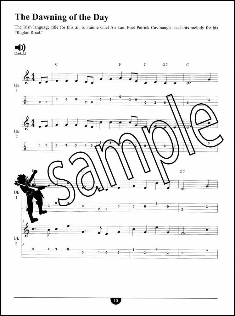 Details about Ukulele Duets TAB Music Book with Audio Duet by Joe Carr Two  Players Duo