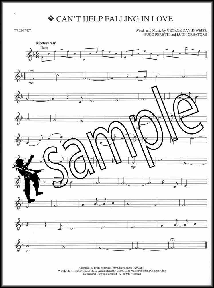 Details about Elvis Presley Instrumental Play-Along for Trumpet Sheet Music  Book with CD