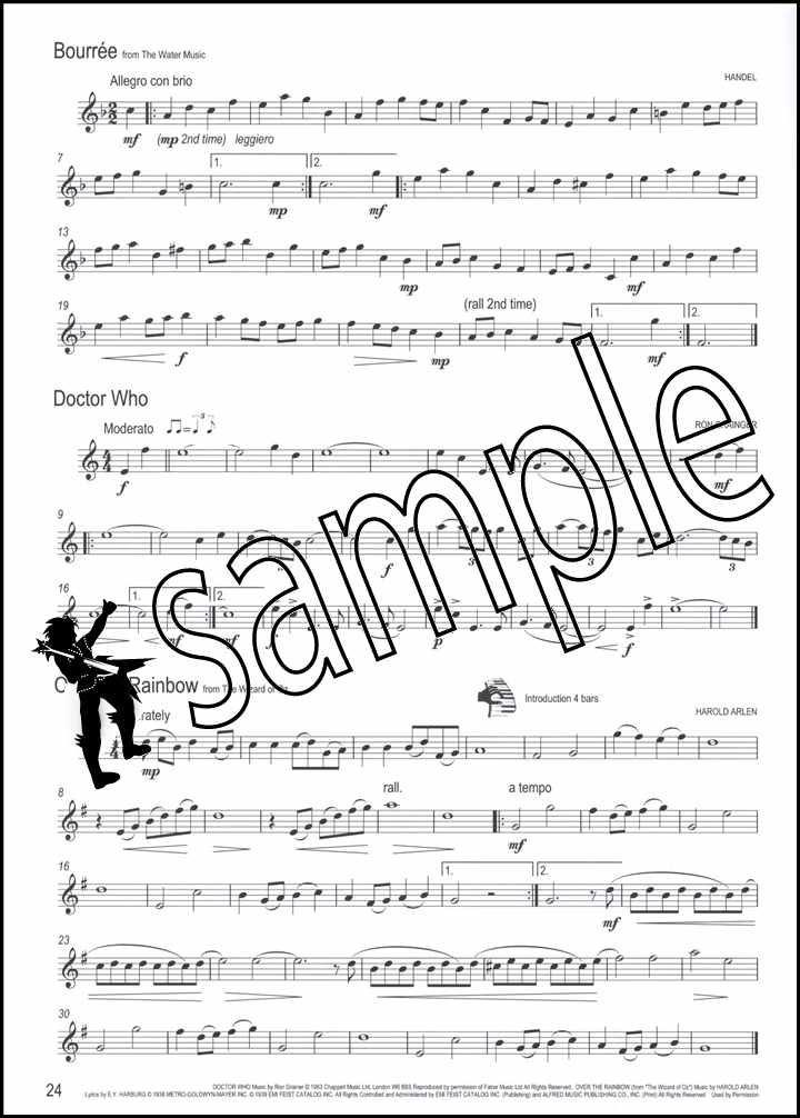 Sheet Music 0138PA Winner Scores All for Treble Brass PA; Booklet