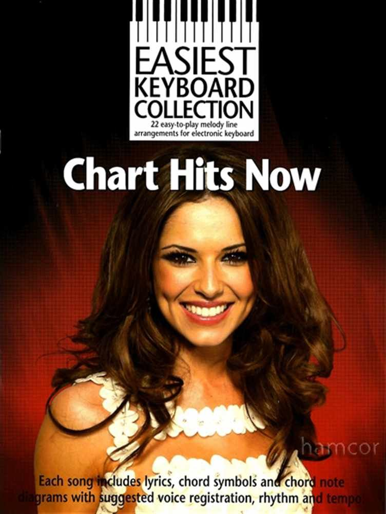 Details about Chart Hits Now Easiest Keyboard Collection Music Book JLS  Take That Lily Allen
